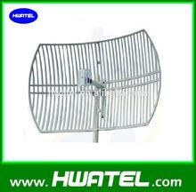 WLAN 2.4G 24 Dbi 0.6*0.9 Meter grid parabolic antenna