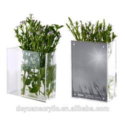 Custom acrylic tube vase,clear glass cylinder vases,telescopic hydraulic cylinder