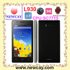 Hot sell 4.5 inch smartphone android L930 with SC7715 & Android 4.4 OS