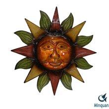 Sun Face Patio Wall Sculpture