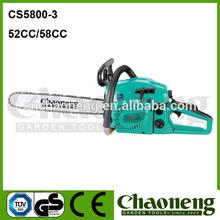 Chaoneng 52cc/58cc portabl chain saws roegen, walbro bar guide