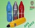 Eco friendly botella de agua/potable deporte botella de bpa libre de plástico botella de agua de la fábrica