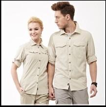 2014 Summer Long Sleeve Shirt Quick Dry Men UV Protection Outdoor FISHING Long Sleeve Shirt