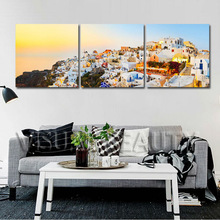 New Design Modern Building Printing On Canvas Wall Art
