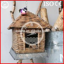 Robeta bird cage pet cage /wooden decorative bird cage