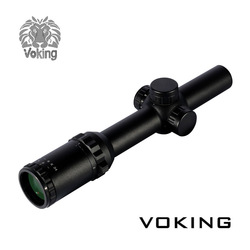 Hot!! 1-6X24IR red dot Illuminated Reticle China wholesale Hunting Riflescope military surplus Voking/OEM rifle sight scope