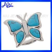 animal jewelry ladies stainless steel rings
