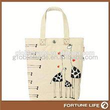 Hot christmas gift bags personalised girls gym school drawstring cotton FL-CB04060