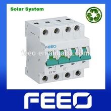 Australian Market Mini Type 4P 1000V DC Solar Circuit Breaker