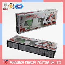 Custom Color Printed Corrugated Cardboard Carton Box with Handle