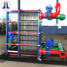 high pressure hydraulic oil cooler with plate heat exchanger