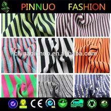 2014 new design cotton black white striped fabric