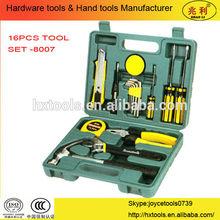 16pcs repair tool set / household hand tool set