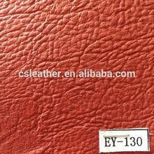Colorful grain faux pu coated leather for sofa cover