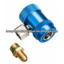 Refrigeration Quick Coupler With Adjustable Adapter HS-ML-S