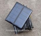 Good quality custom-made cheap price 73*67mm 2v 0.5w polycrystalline silicon solar cells for solar garden lights/ toys