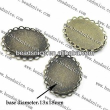 Beadsnice pendant charms making jewellery at home blank pendant trays customized 11478