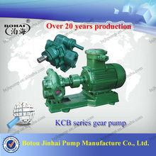 Botou famous gear pump KCB high discharge pump with long life service