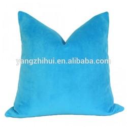 Electric Blue Velvet pillow cover,Electric Blue Velvet pillow case