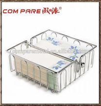 Modern design hotel metal tissue paper holder