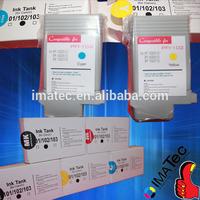 Premium Compatible 130ml iPF710 Ink Cartridges PFI-102 Ink Tank Plug and Play