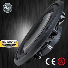 TS-FA Powered black Paint Aluminum Basket Subwoofer