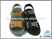 SL-167004 new design EVA injection sandals for boys