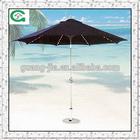 aluminium led garden umbrella
