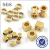 Gold plating brass jewelry finding beads