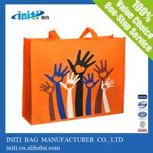 Promotional eco friendly slogan eco bag