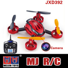 4CH 2.4G mini 4-Aexs rc drone with camera 5 LED Lights jxd RC toys rc drone with camera