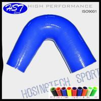 "Performance 3.0""-2.5"" 160 degree elbow reducer car turbo silicone hose"