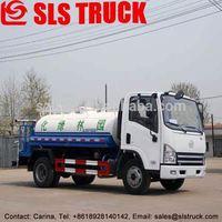 4*2 4.88t jac sprinkling tanker truck