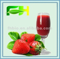 100% Natural Concentrate Strawberry Juice