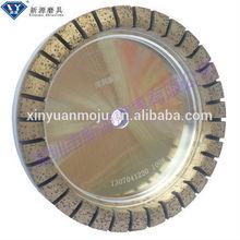 resin vitrified bond diamond grinding wheel for glass