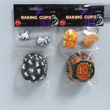 Hallowmas children cupcake liner picks packs