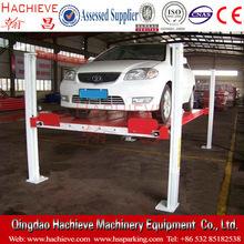 Auto parking lifts /four post auto garage parking platform