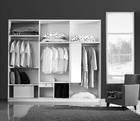 Useful designer wooden sliding door wardrobe armoire