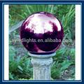 Esfera de aço inoxidável para a decoração do casamento/display água