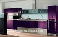 الايطالية الحديثة تصميم المطبخ الحديثة عالية اللمعان مطبخ مجلس الوزراء