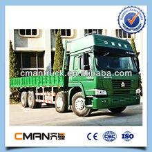 12wheel China heavy duty 8x4 Traction Cargo Truck lorry transport service