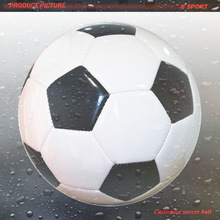 2# Machine Stitched Pvc Football/cool Golden Soccer Ball