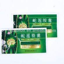 Customised printing plastic pharmaceutical packaging bag