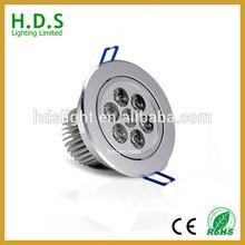 12 volt downlight recessed 12v mini 7 watt220v NEW SALE LED Aluminium led