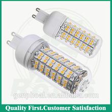 2014 New SMD5730 G9 9W 12W 15W 18W led bulb Warm White/ white 220V/110V 24LEDs 36LEDs 48LEDs 56LEDs 5730SMD G9 Led lamp light