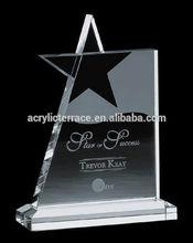 2014 hot sale acrylic trophy award