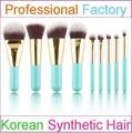 Juego de brochas de maquilla cosmético profesional Fay/brochas de maquillaje/brochas de maquillaje, 9 piezas