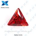 Piedra sintética/naranja rojo zirconia cúbico grandes/brasileño sintético semi- piedra preciosa en racimo de uva