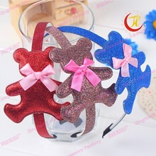 bear design cute baby headband girl hair band children accessory