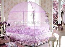 Mesh size min 25 holes/ cm2 folded purple princess mosquito net bed canopy
